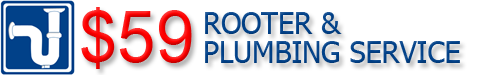 $59 Rooter & Plumbing Service in Phoenix, AZ provides residential plumbing and repair services.