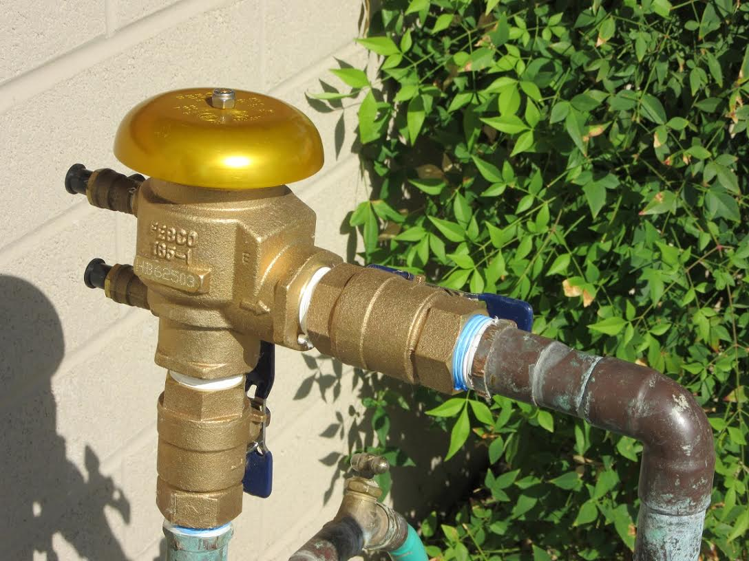 Vacuum Breaker Irrigation System Repair And Replacement